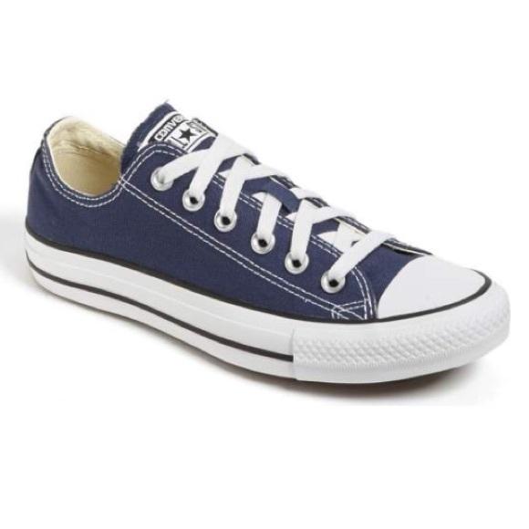 ✨SALE✨Navy Blue Converse